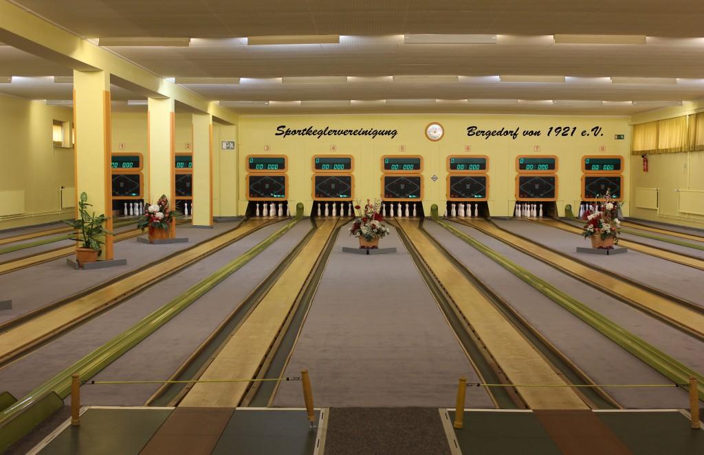 SKV Kegelhalle - innen